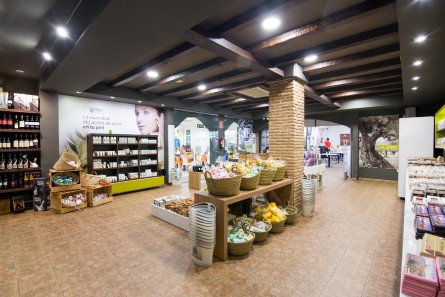 tienda de productos realizados con aceite de oliva