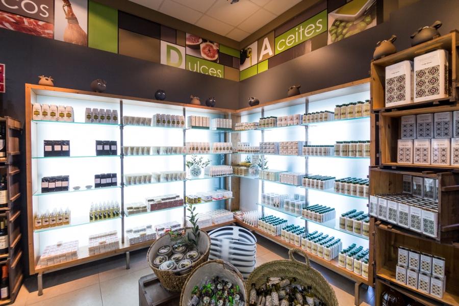 Tienda de cometicos y productos realizados con aceite de oliva virgen extra
