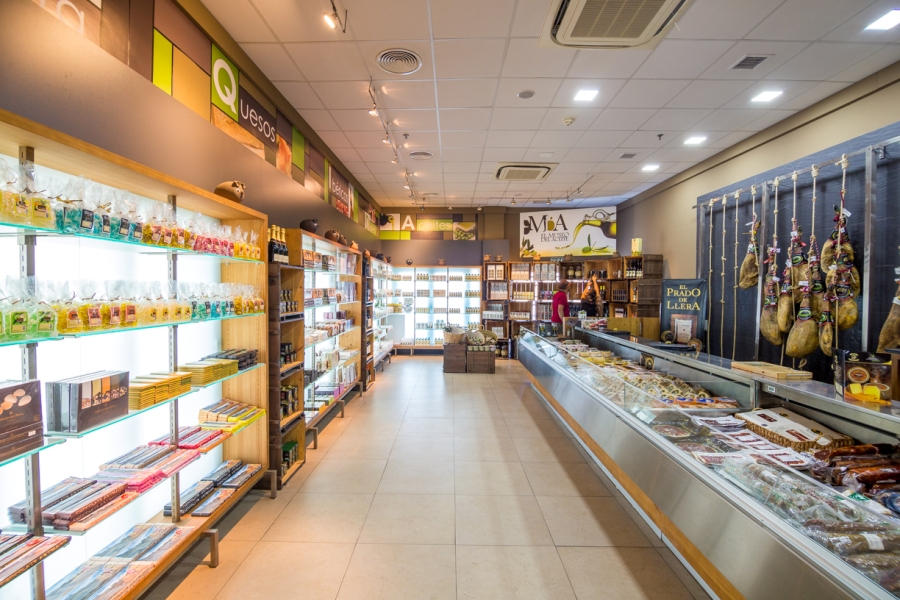 Tienda de embutidos y productos ibéricos