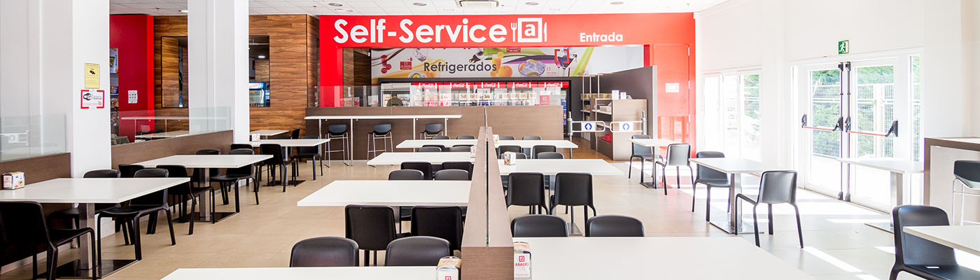 área de servicio en Mérida, autovía A5