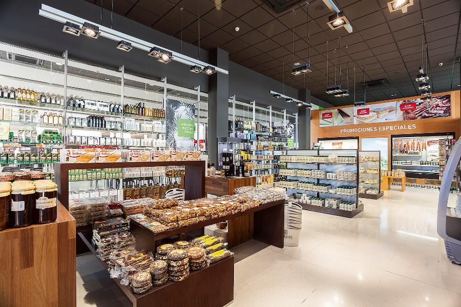 Venta de productos típicos en Abades Áreas