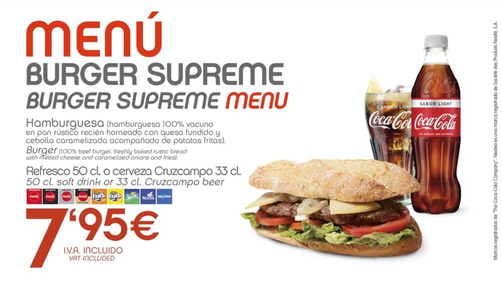 abades areas promocion especial burger supreme