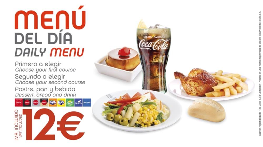abades areas promocion especial menu del dia