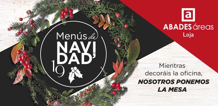 Imagen de promoción de cenas de Navidad en Loja