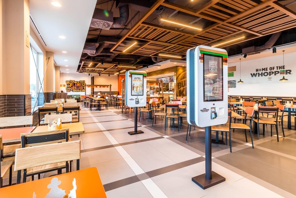 Burger King en área de servicio